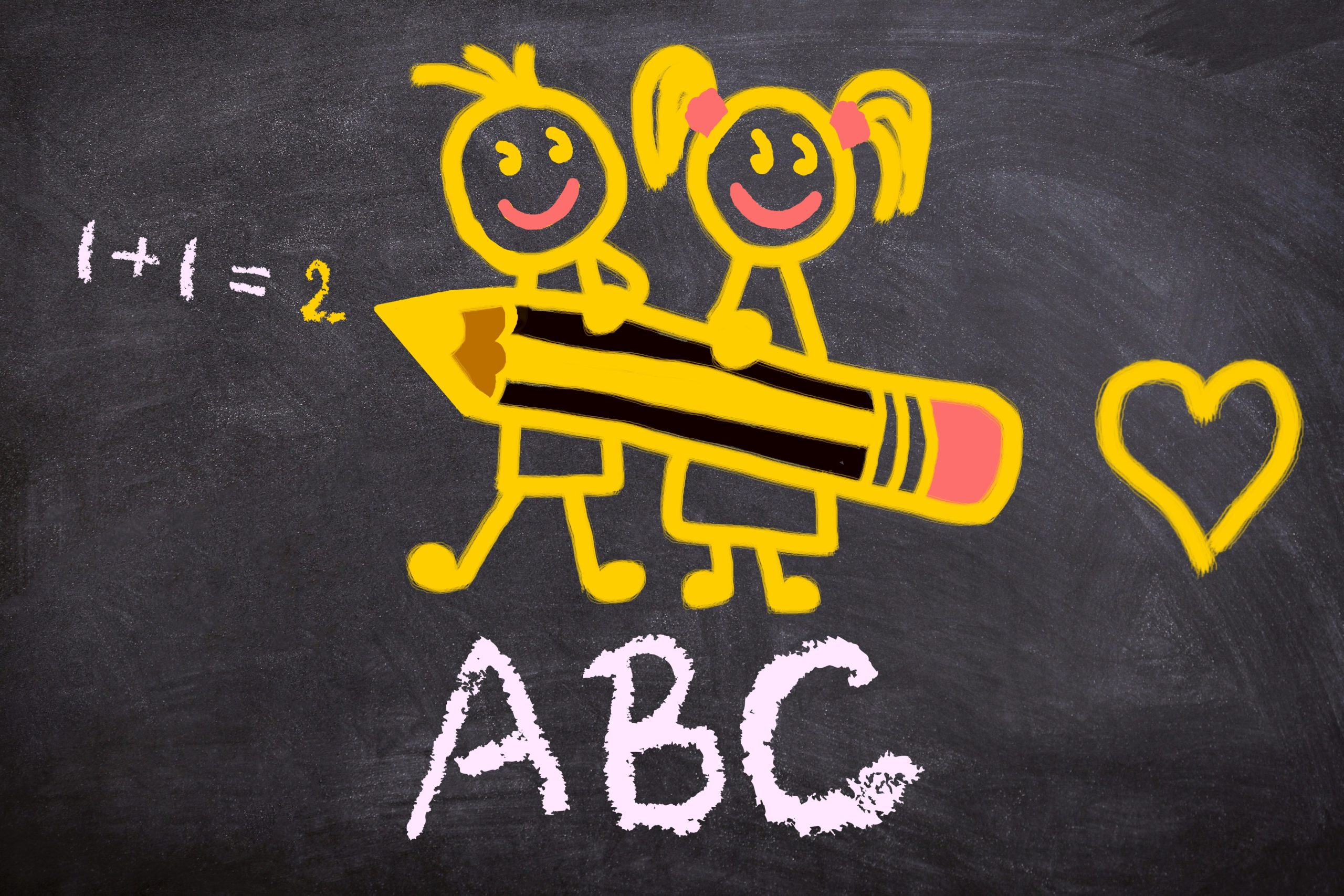 back to school, abc, school enrollment