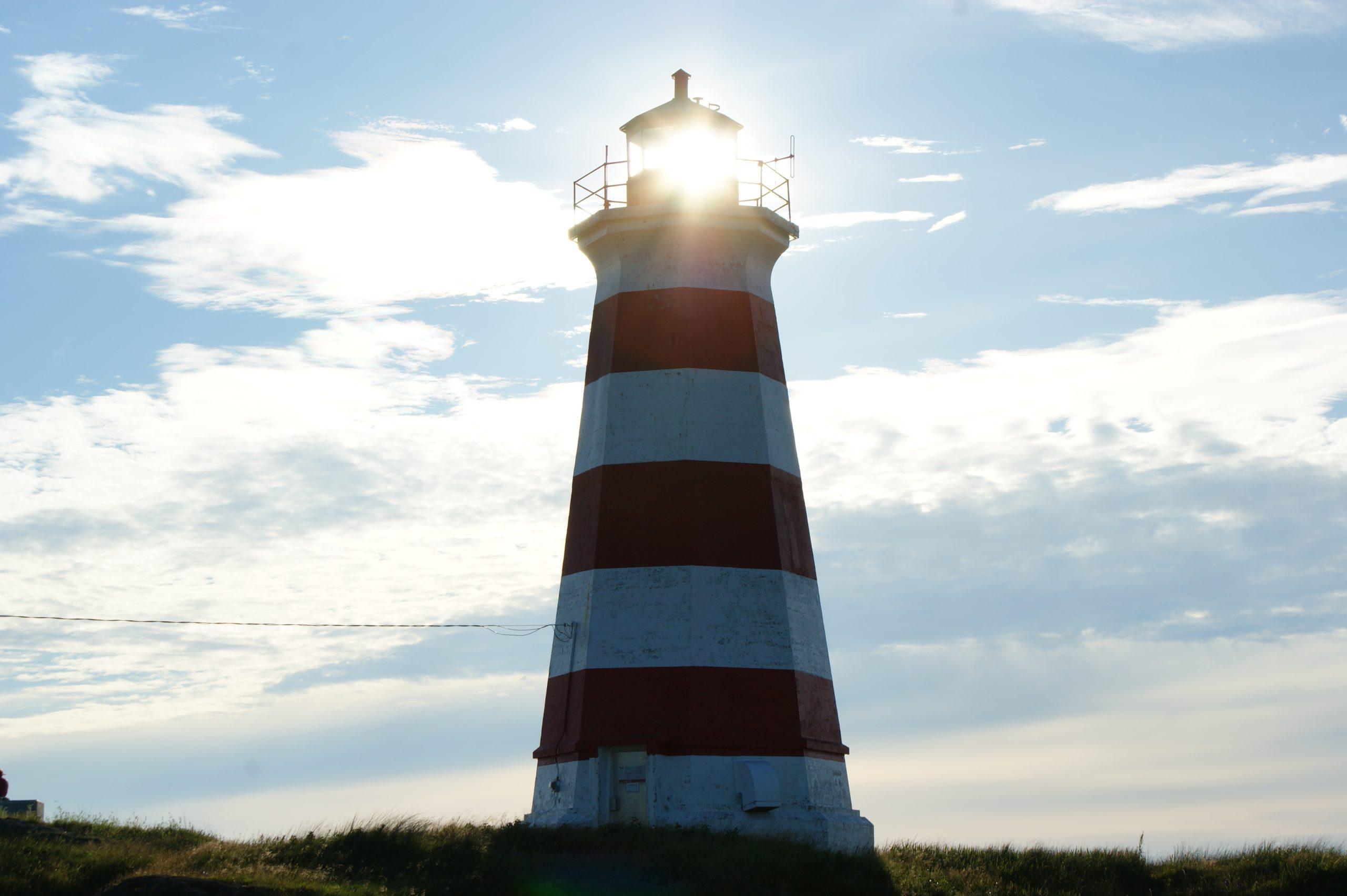 lighthouse, alert, guidepost